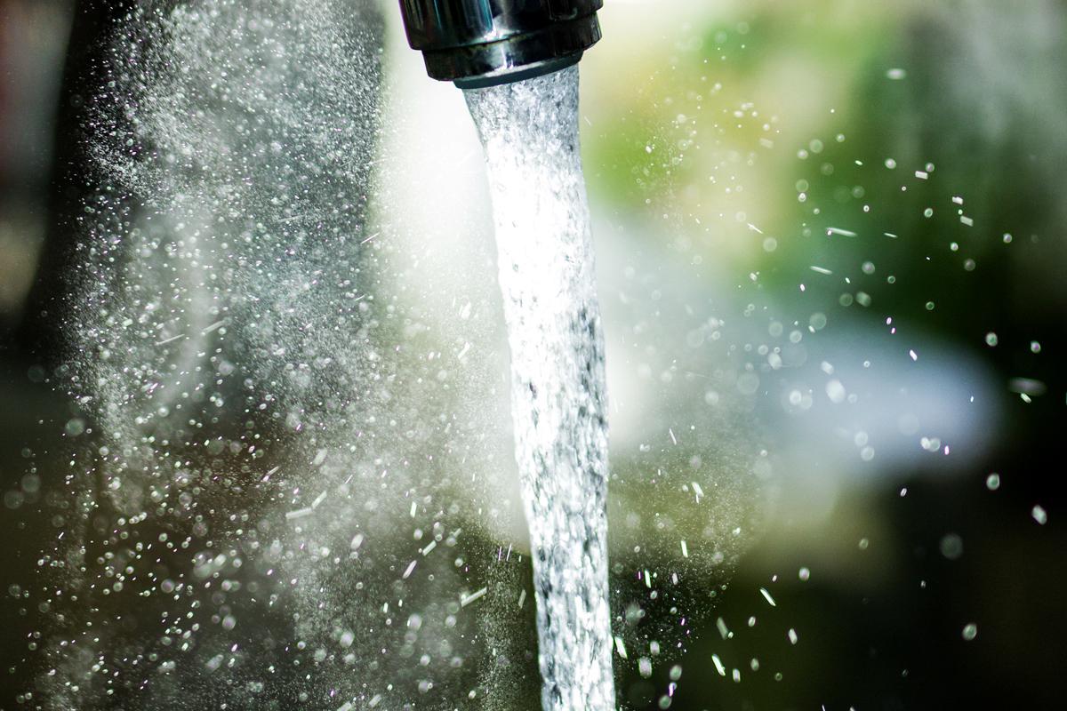 Wasserstrahl (Symbolbild)