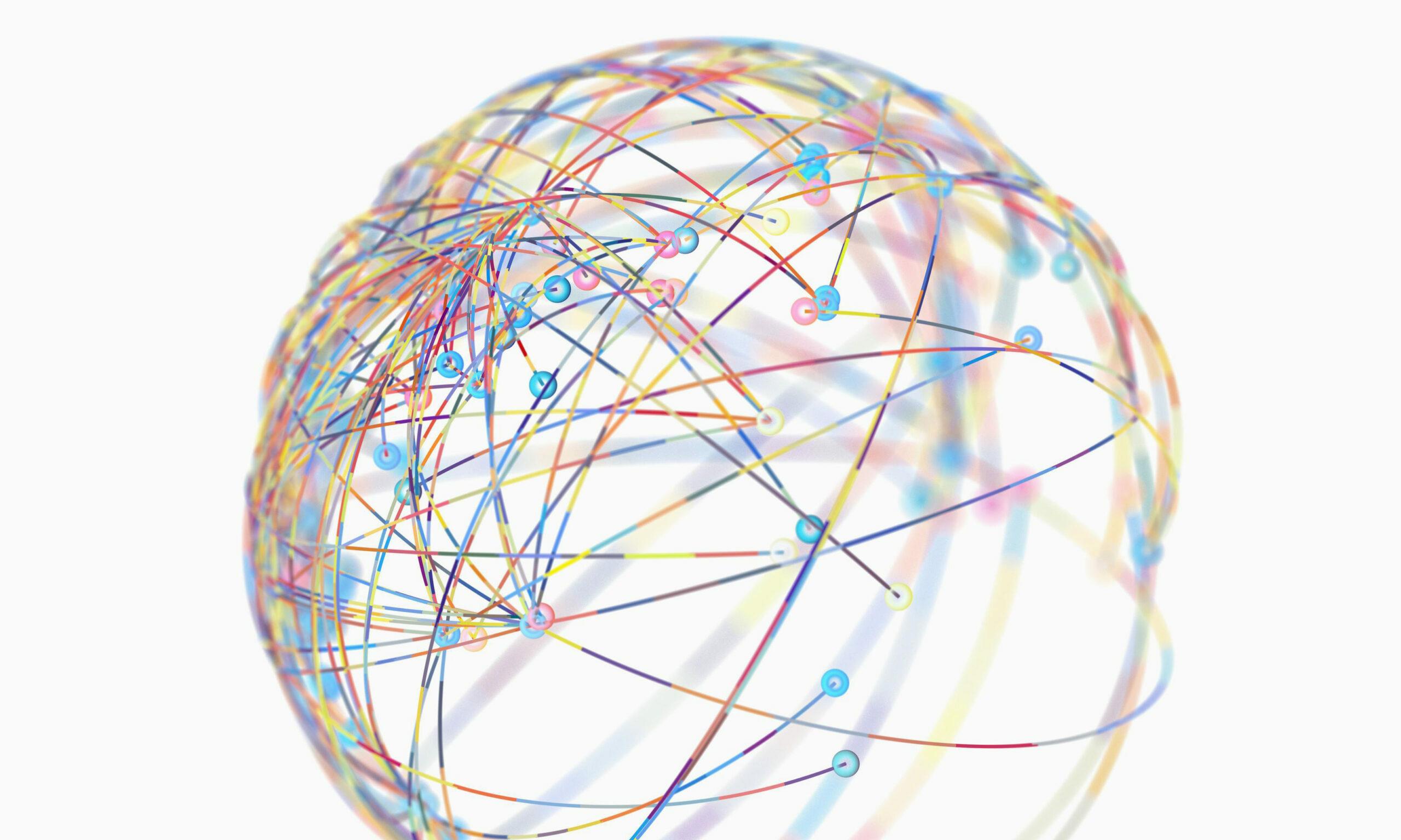 Kugelförmiges Netzwerk